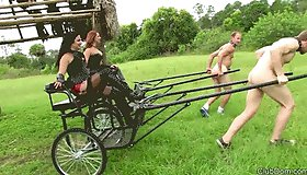 Pony Cart Race at ClubDom