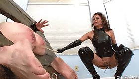 Caning Her Slaves Bitch Ass