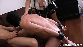 FB - The Maid Makes Her Boss Suck Cock (Forced Bi)