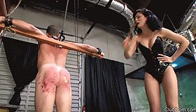 Cruel Caning for Bitch Boy MP4