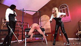 Pathetic Slave's Beating Of A Life Time